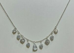 Eliot Danori Necklace $75 Silver Tone New Over Stock With Tags