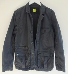 PRETTY GREEN Liam Gallagher mod button up utility cotton shacked jacket M