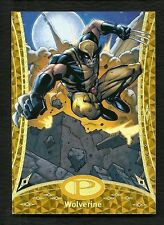 2014 Marvel Premier GOLD PARALELL Base Card #13 WOLVERINE Serial # 5/25