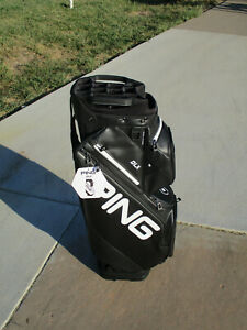 2021 PING DLX Cart Bag Black/White BRAND NEW WITH TAGS!!!!!