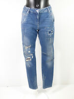 MARC AUREL Damen Jeans Hose Gr 38 DE / Blau Waschung Neu mit Etikett (R 2230 R )