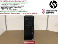 HP Z420 Workstation Intel Xeon E5-2660v2 2.2GHz 32GB RAM 256GB SSD Nvidia K4000