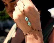 Turquoise Alloy Chain Fashion Bracelets