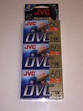 New Jvc Mdv60du3 Jvc 60 Min Minidv Tape 3 Pack