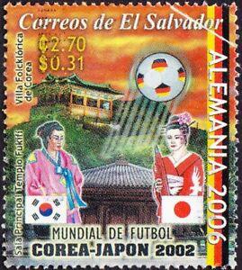 El Salvador - 2006 - 2.70 Colon Alemania 2006 Soccer Commemorative F-VF Nice!