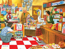 Jigsaw Puzzle Before There Were Malls Open All Hours 500 pieces NEW Made in USA