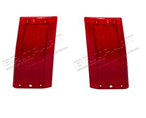 LAND ROVER RANGE ROVER CLASSIC COUNTY 1987-1995 REAR LAMP SIDE LENS SET LH & RH