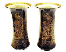 Wilton Ware Vases A.G. Harley Jones Wilton Ware Chinoiserie Pattern