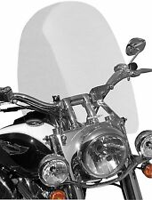 """Sportech Cruise Series Clear Tall (20"""") Windshield for 1 1/4 in. Bars"""