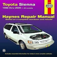 1998-2009 Haynes Toyota Sienna Repair Manual