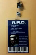 Resident Evil ID Badge-R.P.D. Alpha Team Leader  Albert Wesker