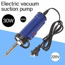 Electric Vacuum Solder Sucker Desoldering Suction Pump Iron Gun Drill Rod Tool