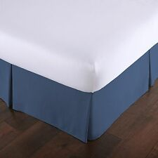 """Southshore Fine Linens Vilano Springs Pleated Bed Skirt 15"""" Drop Solid Bed skirt"""