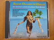 Vanua Levu & Lanai Sun Band - Sweet Dreams Of Hawaii / Imtrat CD 1988 RAR!