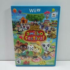 Animal Crossing Amiibo Festival (GAME ONLY) (NINTENDO Wii U) LOOK DESC. (D100)