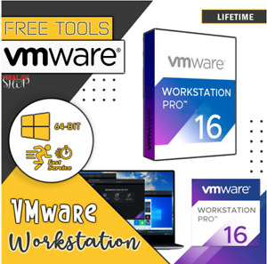 Discount Price✨VMware Workstation Pro 16✨✨ License key✨✔️30 Sec Delivery