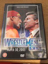 WWE - Wrestlemania 19 DVD WWF Lesnar v Angle