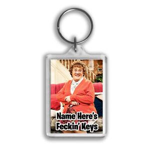 Mrs Browns Boys Personalised Keyring - Gift