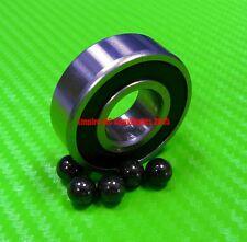 1PCS 16003-2RS Hybrid Ceramic Chrome Metal Bearing Bearings 16003RS 17x35x8 mm