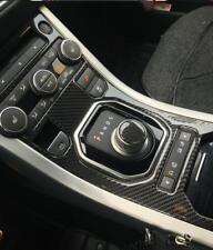 Carbon Fiber Air Conditioner Gear Shift Knob Frame pour Range Rover Evoque A01