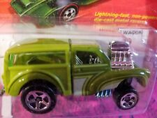 2011 Hot Wheel Hot One Morris Wagon Die Cast Metal Racer Miniature Toy Lightning