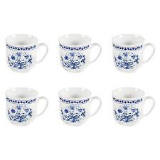 Triptis Kahla Henkelbecher Romantika Zwiebelmuster Porzellan Kaffeebecher