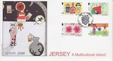 GB Stamps First Day Cover Jersey Multicultural Island, Europa,music,costume 2006