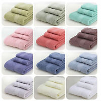100% Cotton Bath Towel Set Luxury Hand/Face/Bath Towel Bathroom Soft Towels Set