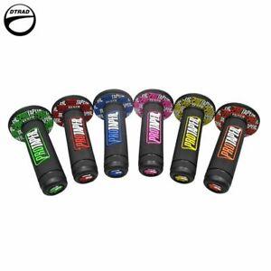 Motorcycle Grip Handle Bar Moto Grips None-Slip Gel Rubber 6 Color Bike  Dual
