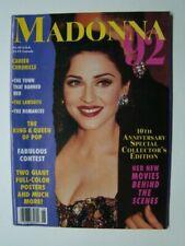 1992 Madonna 92 Magazine Madonna Photograph Cover