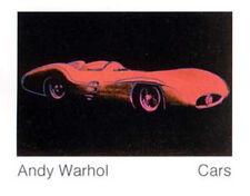 Andy Warhol Cars Formula I Car rot Poster Kunstdruck Bild 70x90 cm Portofrei