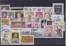 Österreich  Jahrgang 1971 postfrisch komplett