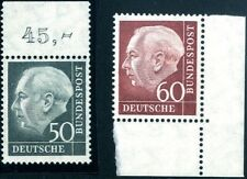 BRD Mi. 189x,190x** postfrische Luxusstücke (245,-+€) (8570/31)