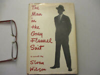 The Man in the Gray Flannel Suit 1st Edition 2nd Printing Fiction Novel