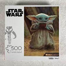 Star Wars The Mandalorian 500 Piece Jigsaw Puzzle Buffalo Baby Yoda Grogu NEW