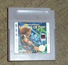 NINTENDO GAMEBOY GAME BOY CARTRIDGE ONLY Wizards & Warriors X Fortress of Fear