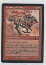 1999 Magic: The Gathering - Urza's Legacy #75 Defender of Chaos Magic Card 0o3