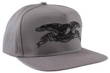 ANTIHERO Skateboards Basic Eagle Gray / Black Snapback Hat