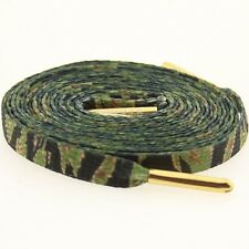 $6 Starks Laces - Tiger Stripe Camo Shoelaces shoestrings 0044-45Inch-1S