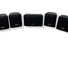 JVC Home Theater Satellite Speaker Surround Sound Speakers Black SP-XSA-235