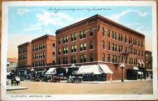 1925 Postcard: Ellis Hotel - Waterloo, Iowa IA