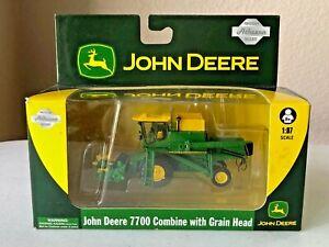 Athearn #77094 HO/1:87 Scale John Deere 7700 Combine w/Grain Head - NOS