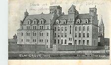 Wisconsin, WI, Elm Grove, St Mary's Home School 1909 Postcard