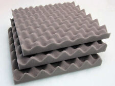 6 PACK OF SOUND PROOFING ACOUSTIC FOAM SOUND TREATMENT LARGE TILES CONVOLUTED