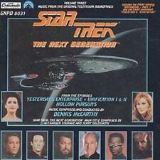 Various : Star Trek: Next Generation Vol 3: Music from the Original Television