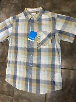 Columbia Men's Hiking Casual Trail Shirt Short Sleeve Plaid. Size Small $40