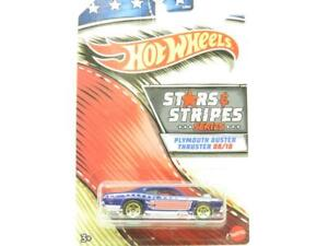 Hot Wheels Stars Et Bandes Plymouth Duster Long Carte 1 64 Echelle Scellé Neuf