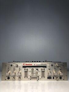 RARE! VESTAX PMC-250 ROTARY DJ MIXER PRO VINTAGE PMC250 MINT CONDITION!
