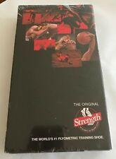 The Original Strength Leg Training System Plyometric Shoe VHS Tape SEALED 1998