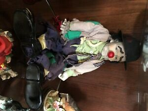 """1983 Vintage Dynasty Doll Weary Willie the Tramp Clown-Hobo Doll 22"""" Tall"""